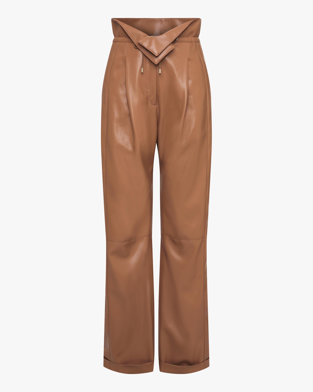 Dorothee Schumacher Sleek Faux Leather Performance Pants 0