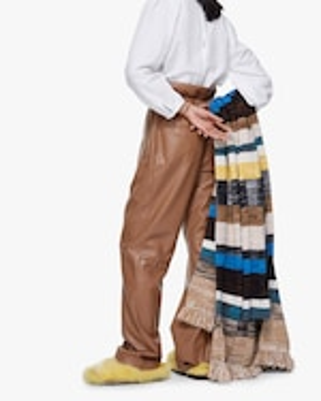 Dorothee Schumacher Sleek Faux Leather Performance Pants 3
