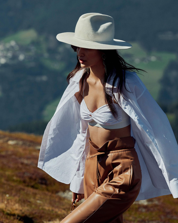 Dorothee Schumacher Sleek Faux Leather Performance Pants 5