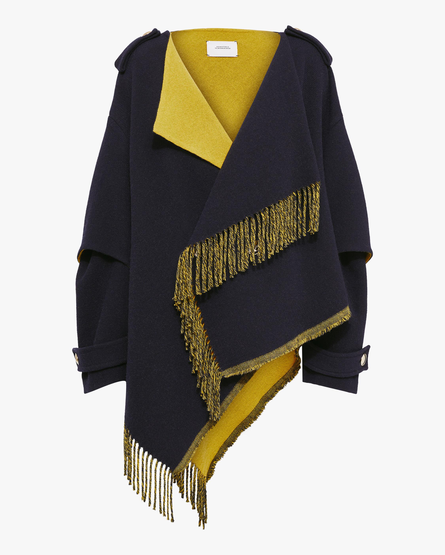 Dorothee Schumacher Colorful Fringe Coat 0