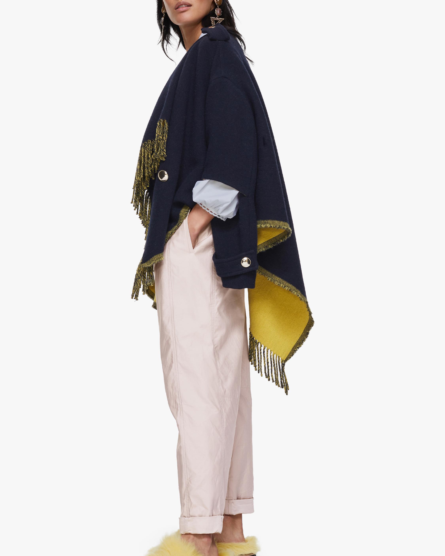 Dorothee Schumacher Colorful Fringe Coat 3