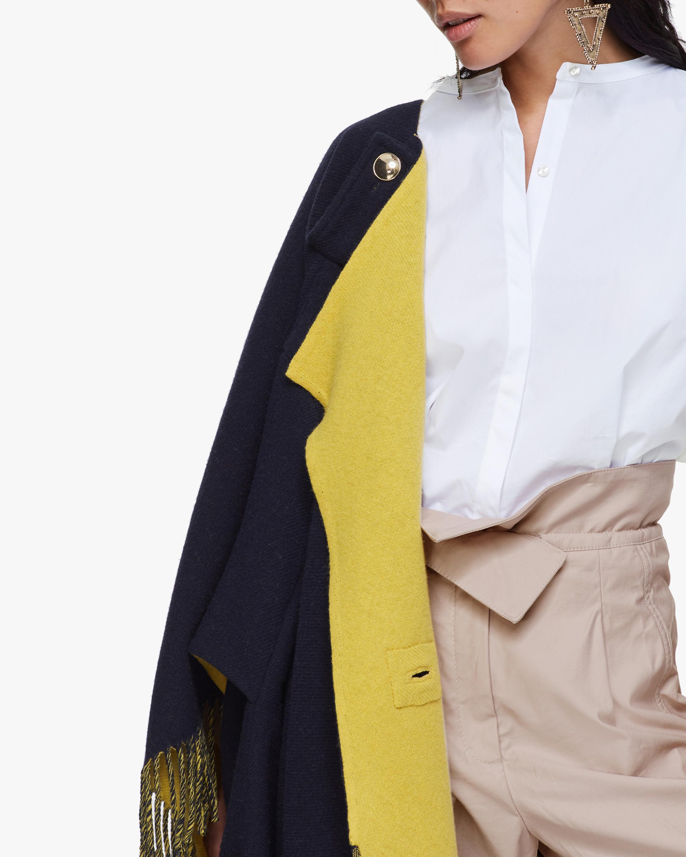 Dorothee Schumacher Colorful Fringe Coat 4