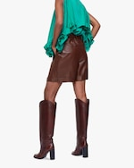 Dorothee Schumacher Exciting Softness Leather Shorts 3