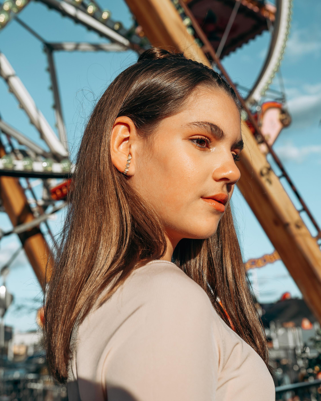 Juliette Du Jacob Green Chalcedony Ear Hooks 2