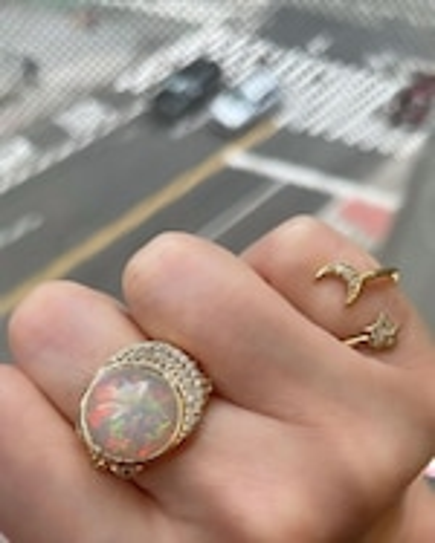 Eden Presley Celeste Cocktail Ring 1