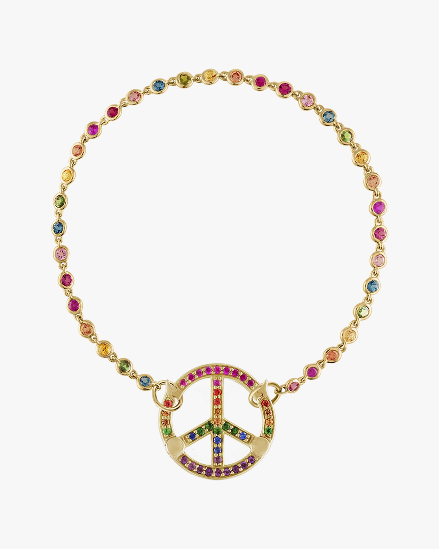 Eden Presley Peace Rainbow Sapphire Bracelet 0