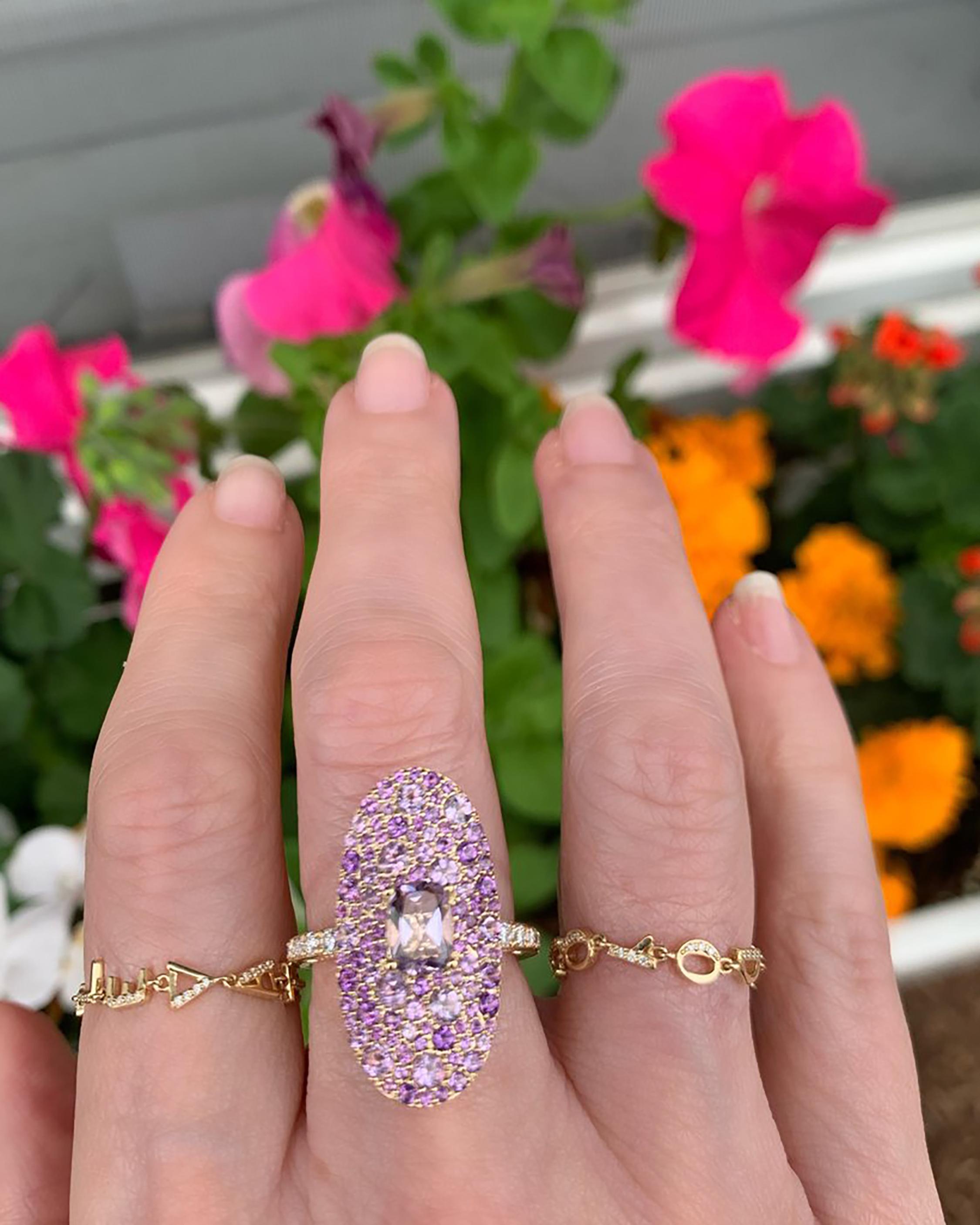 Eden Presley Love Chain Ring 2