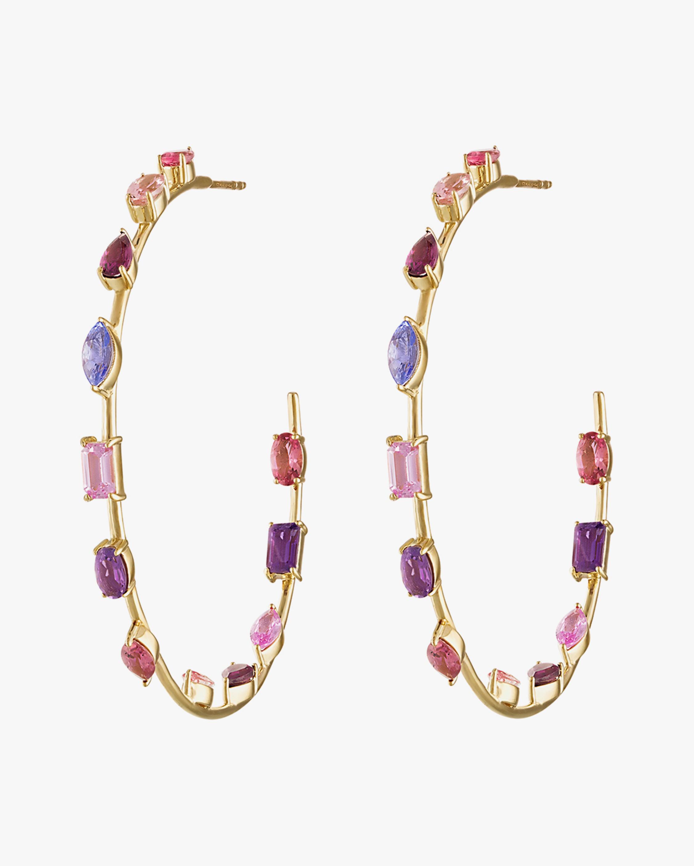 Eden Presley Goddess Hoop Earrings 0