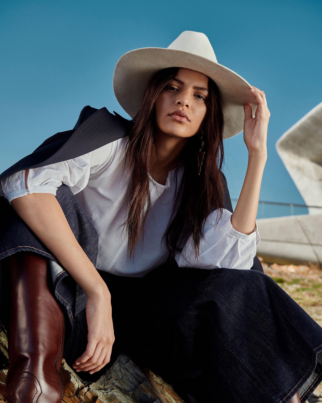 Dorothee Schumacher Into the Wild Cowboy Hat 5