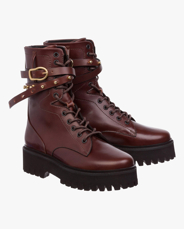 Dorothee Schumacher Chic Wilderness Combat Boots 0