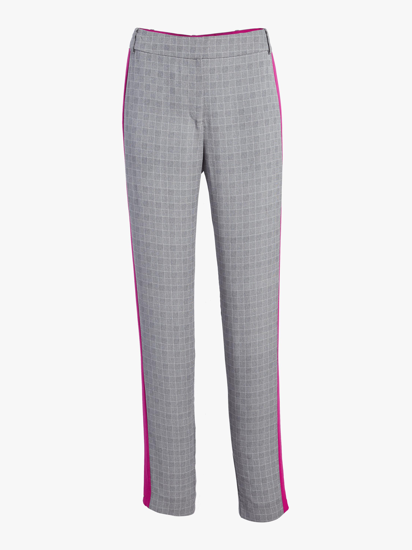 Prince of Wales High Waist Pants