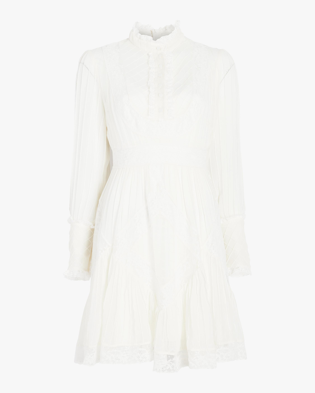 Unbridled Tucked Dress