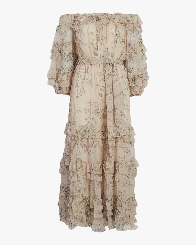Unbridled Ruffle Dress
