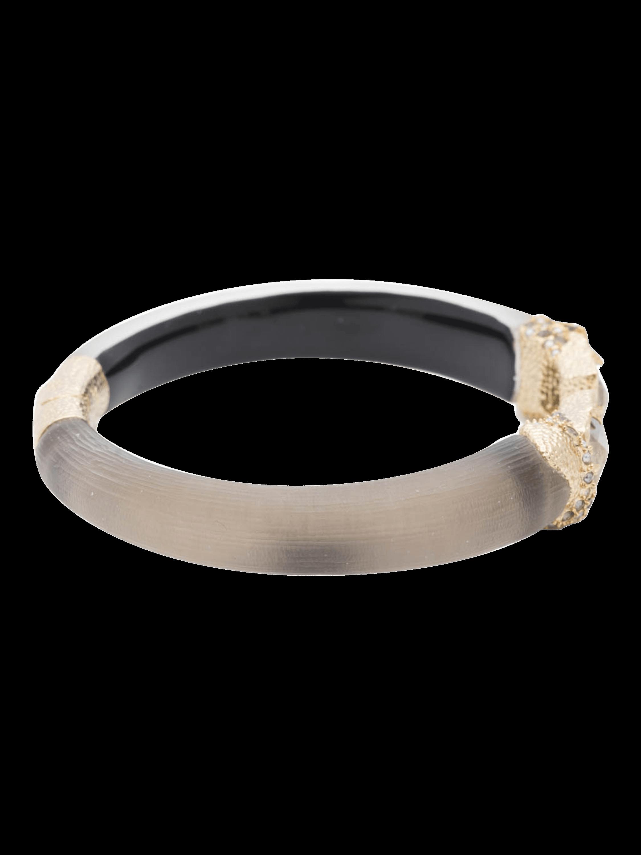 Stone Baguette Hinge Bracelet