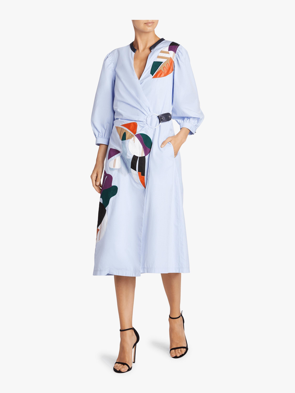 Dada Applique Seraphina Dress
