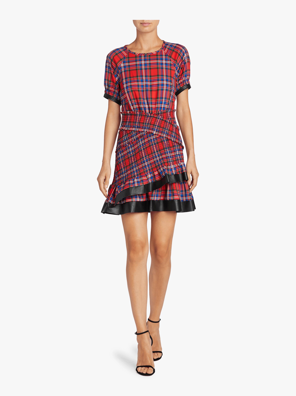 Plaid Flannel Nicole Dress