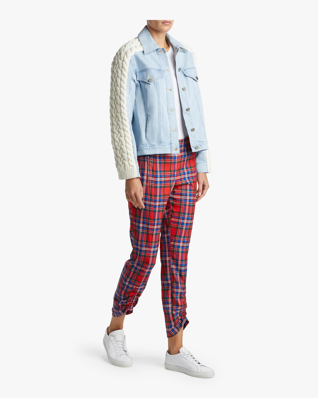 Plaid Flannel Carrington Pants