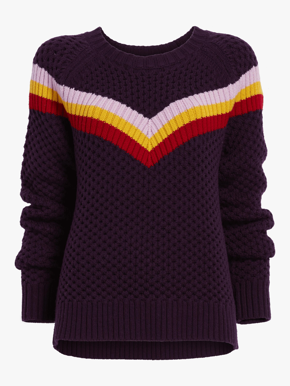 Striped Fisherman Sweater