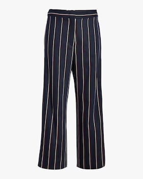Pleated Wool Pants