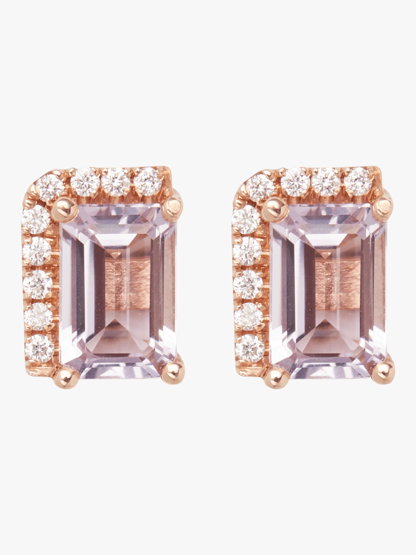 Rose De France Stud Earrings