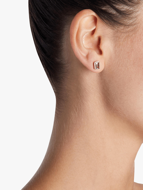 Kalan by Suzanne Kalan Rose De France Stud Earrings 1