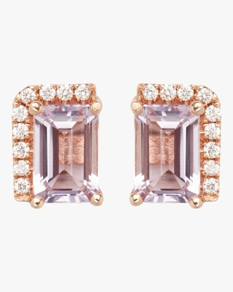 Rose De France Stud Earrings