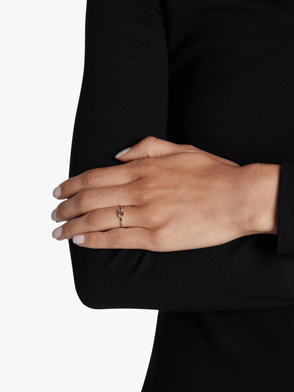 Rose De France Baguette Ring