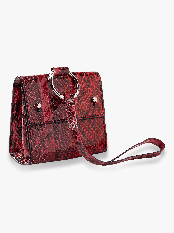 Split Watersnake Mini Charm Bag