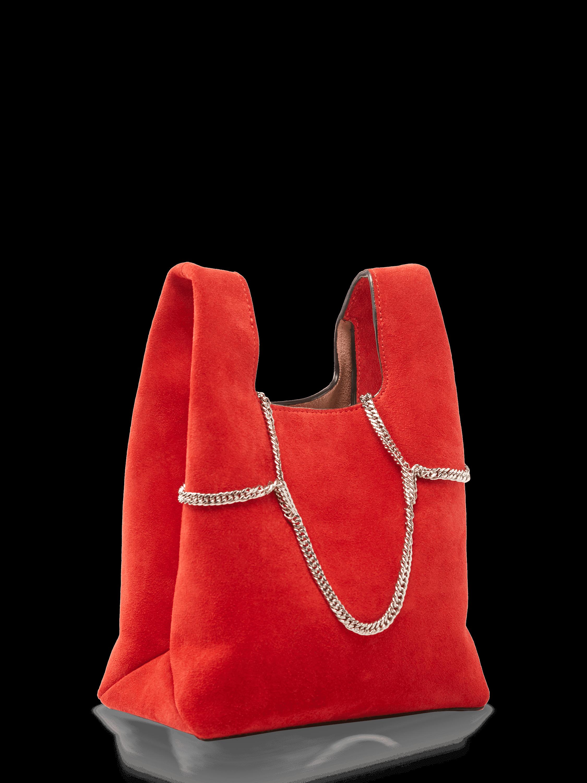 Suede Mini Shopper Bag
