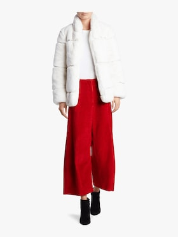Sarah Stand Collar Coat