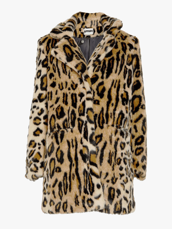 Margot Leopard Coat