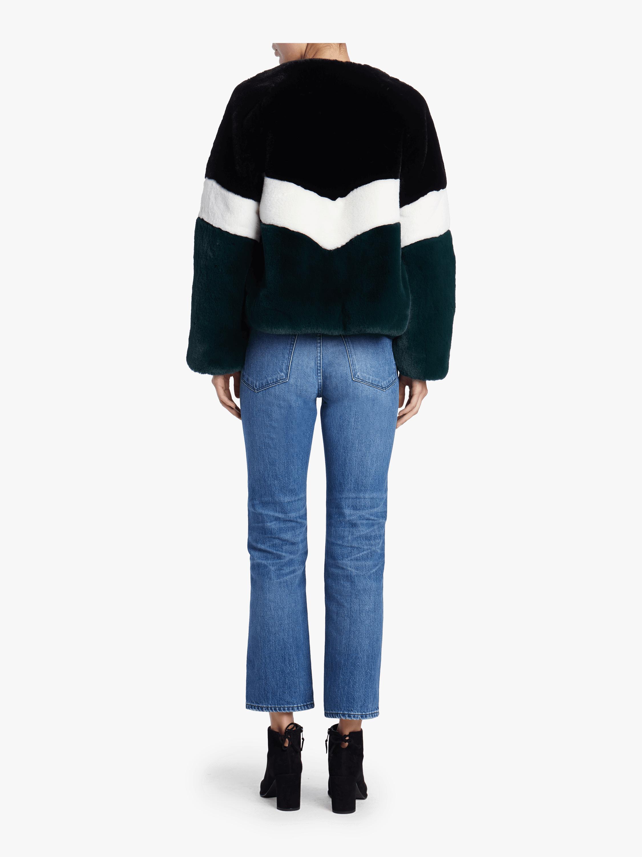 Brigitte Striped Short Jacket Apparis