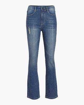 Fabrice High Rise Boot Cut Jeans