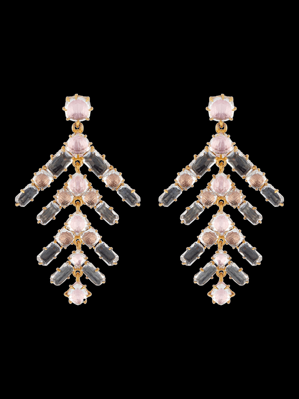Larkspur & Hawk Caterina Branch Chandelier Earrings 0