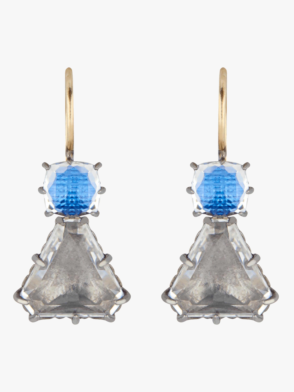 Caterina Geometric Drop Earrings