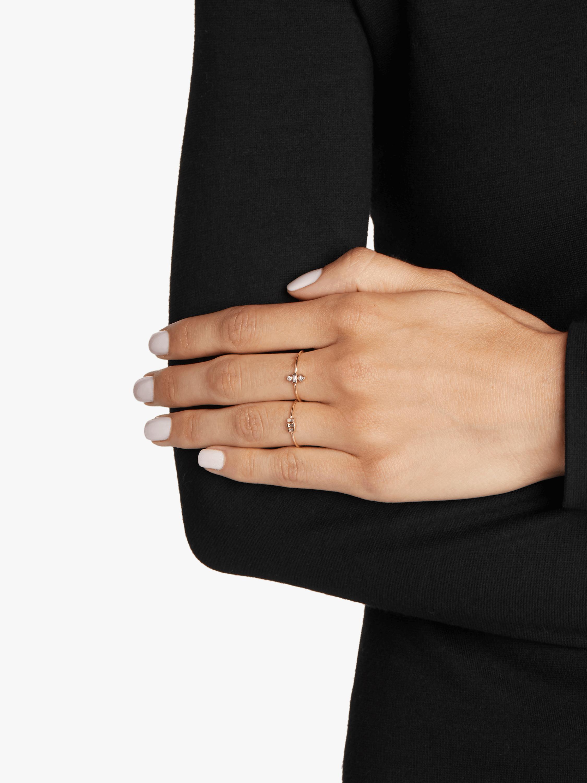 Mixed Cut Trio Diamond Ring