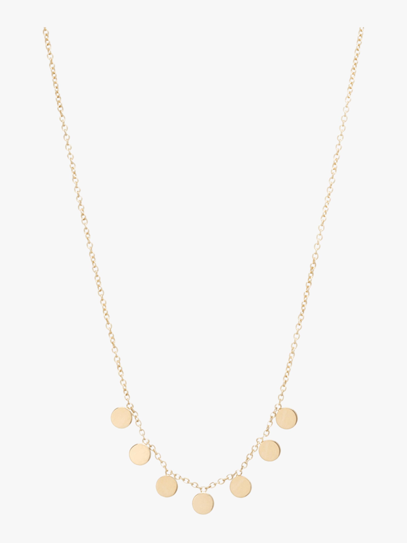 Itty Bitty Round Charm Necklace