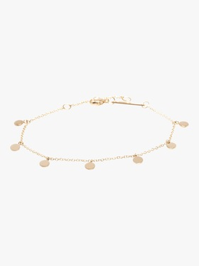 Itty Bitty Round Charm Anklet