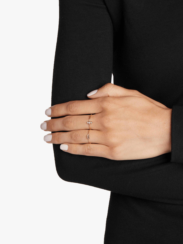 Stepped Baguette Diamond Ring