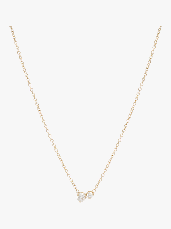 Mixed Diamond Necklace