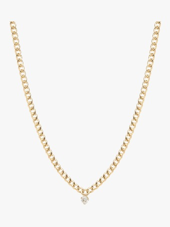 Small Curb Chain Necklace
