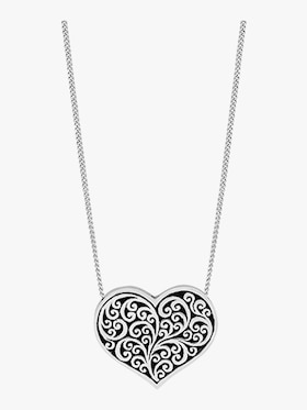 Reversible Heart Mom Necklace