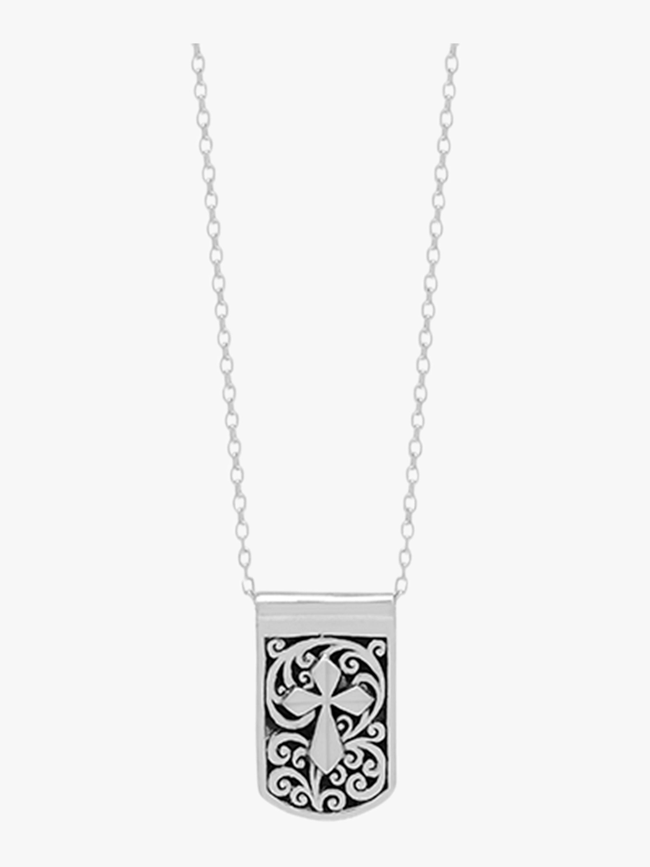 Reversible Cross Necklace
