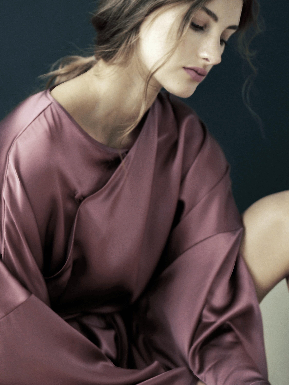 Magnolia Silk Nightgown