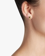 Gurhan Small Round Amulet Stud Earrings 1