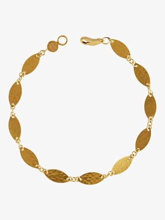 Thin Willow Flake Bracelet