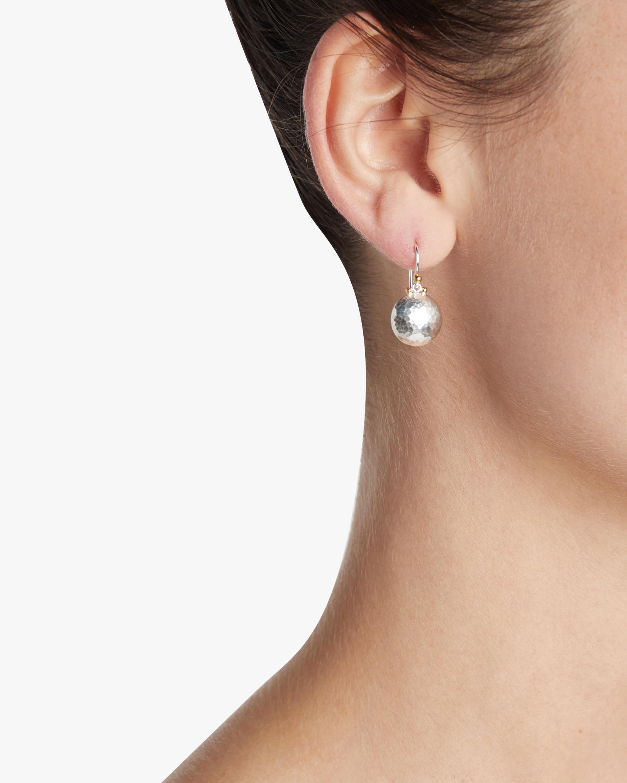 Medium Lentil Drop Earrings