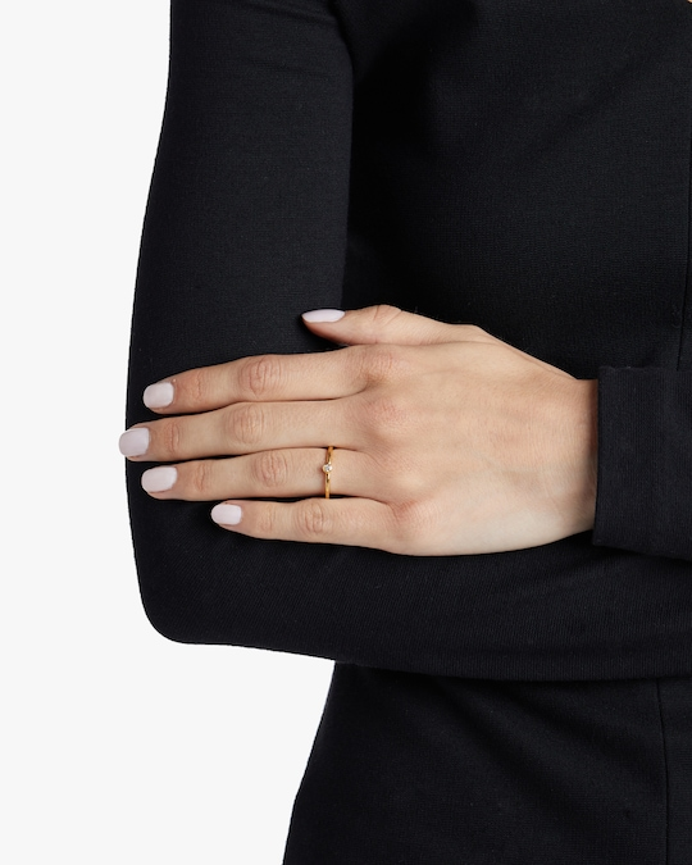 Gurhan Stacking Skittle White Diamond Ring 1