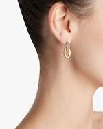 Gurhan Single Drop Hoop Top Galahad Earrings 1
