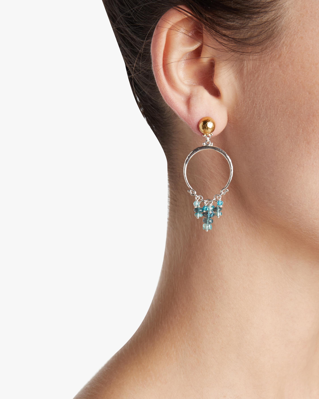 Gurhan Tassel-Ring Vertigo Flurries Earrings 1